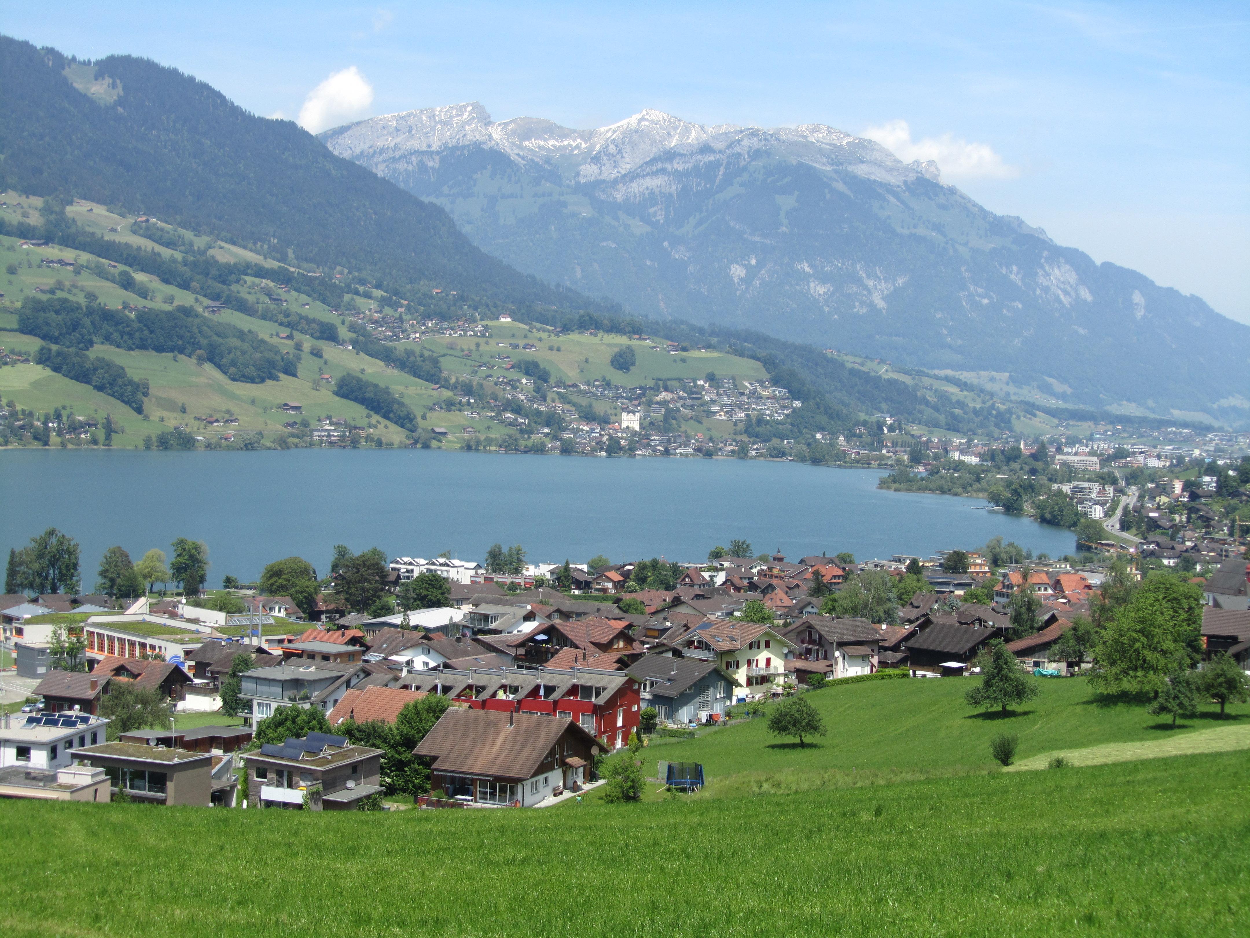 Landschaftsbild Sarnen